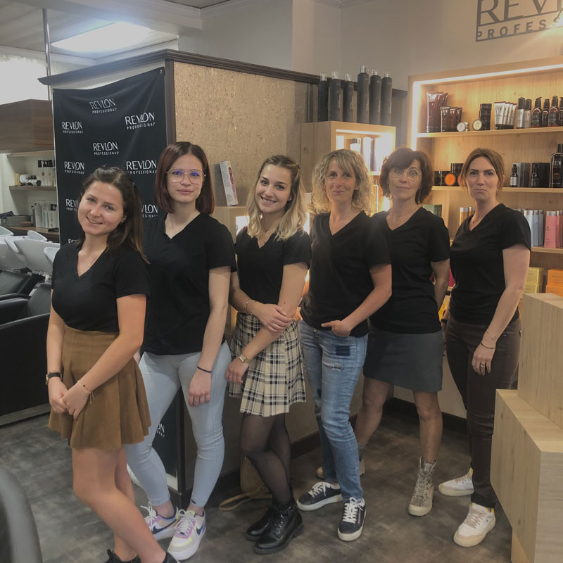 équipe salon Attrac'tif coiffure